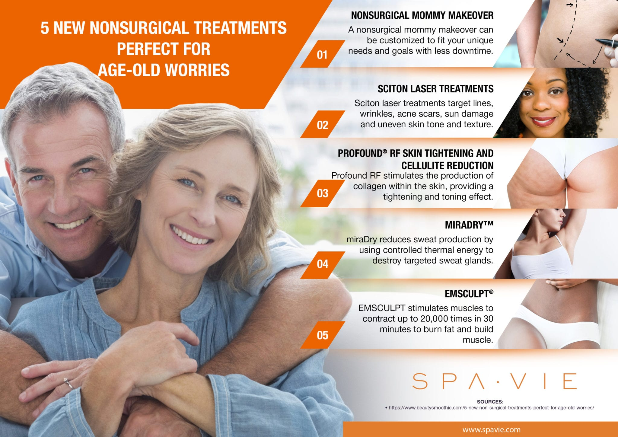 5 New Nonsurgical Treatments Perfect for Age-Old Worries [Infographic]